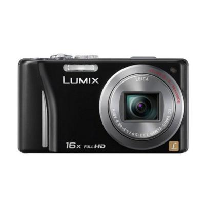 Panasonic Lumix DMC-TZ20 Hitam Kamera Pocket