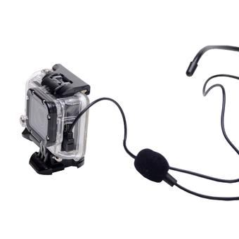 Professional Wearable Noise Reduction Directive Sport Microphone for GoPro Hero3+ / Hero3 (Intl)