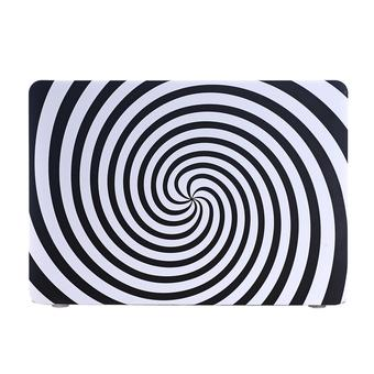 "Psychedelic Whirlpools Protective Case for 13.3"" MacBook Pro Retina (Black/White)"