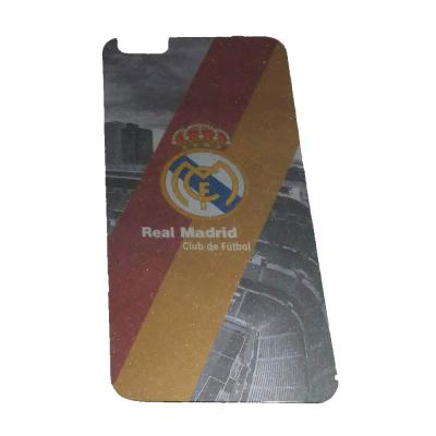 QCF Real Madrid Tempered Glass for Apple iPhone 6 5.5 Inch [Depan Belakang]