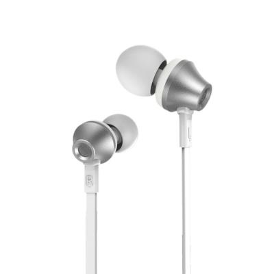 Remax RM 610D Android / iOS Headphone Stereo Bass Handsfree - Silver
