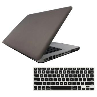 Rubberized Hard Case Shell + US Version Keyboard Cover for Macbook Air 11""