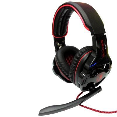 SADES SA-903 7.1 Sound Effect USB HEADSET - Hitam