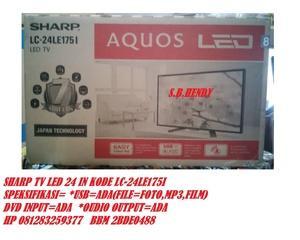 SHARP LED TV 24 IN LC 24LE175I