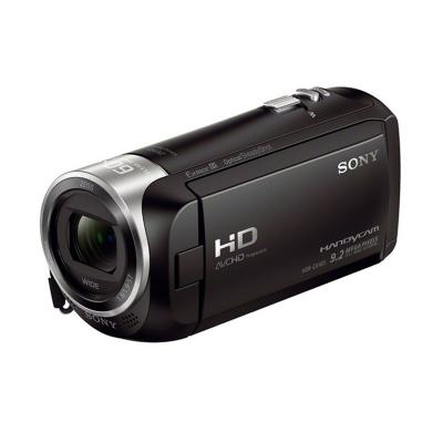 SONY HDR-CX405 Camcorder - Hitam Original text
