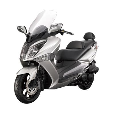 SYM GTS 250i New Silver Sepeda Motor [DP 30.000.000]