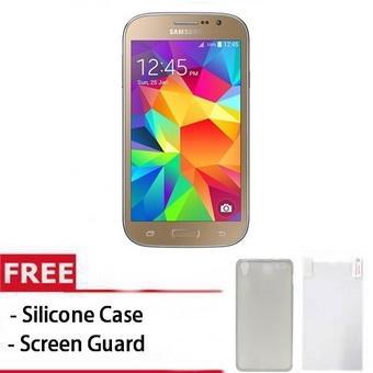 Samsung Galaxy Grand Neo I9060 - 8GB - Gold + Gratis Screenguard + Silicon Case