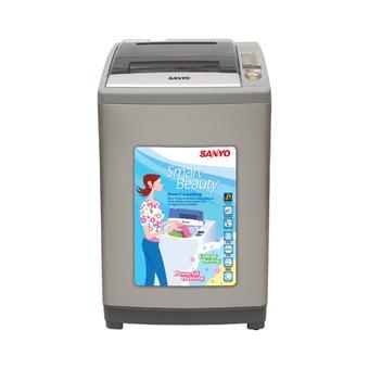 Sanyo Mesin Cuci 1 Tabung / Top Loading ASW100 V1TS - 10 Kg
