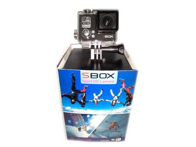 Sbox Camera Sport S-1 Full Hd Free Micro Sd - 8GB - Hitam