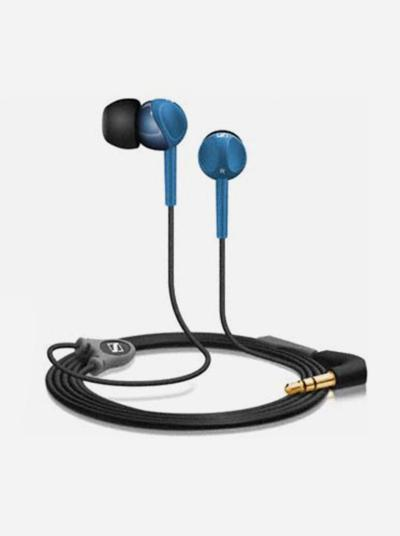Sennheiser Earphone CX213 In-ear Headphone Perfect Noise Isolation - Biru