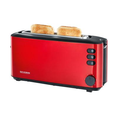 Severin AT9729 Automatic Long Slot Red Metalic Toaster