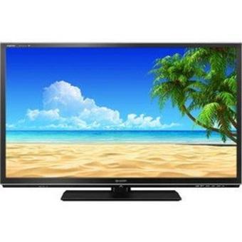 """Sharp 24"""" Aquos LED TV - Hitam - Model LC-24LE175I"""