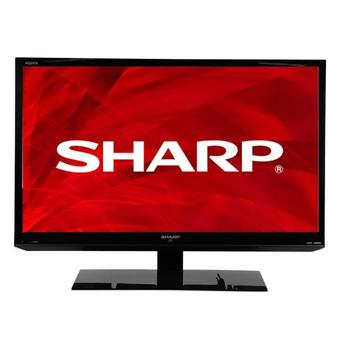 "Sharp LC-19LE150M AQUOS - 19"" ??? LED - Hitam"