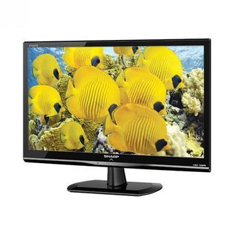 "Sharp LED TV Aquos 24LE170 - 24"" - Hitam"