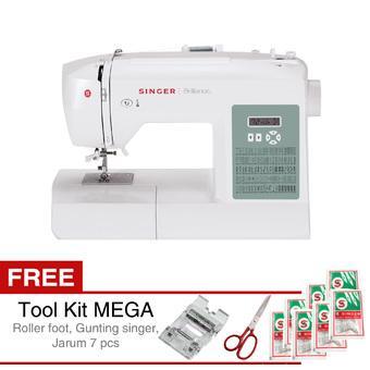 ... Mini Sewing Machine GT/FHSM 202 - Putih dan Harga. Source · Singer 6199 Brilliance Mesin Jahit Portable Digital + Gratis Tool Kit Mega