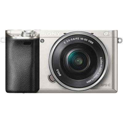 Sony Alpha Ilce A6000 KIT 16-50mm Kamera Mirrorless - Silver