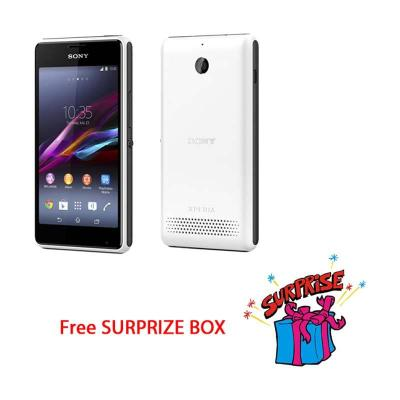Sony Xperia E1 Dual SIM D2105 White Free Surprize Box