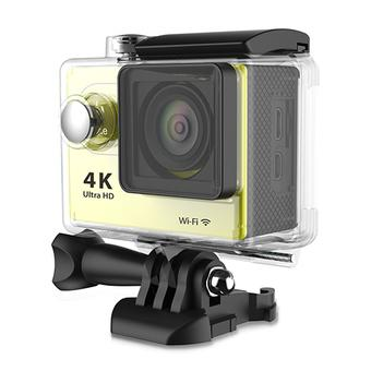 Sports DV Action Camera H9 1080P 60fps Video +WIFI+ 170°Wide View Angle + Waterproof +1050MAH battery Car DVR Camrecorder(Yellow) (Intl)