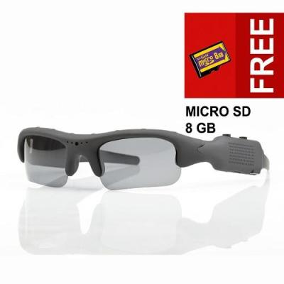Spy Cam - Kacamata YB-SM06 - 720HD + Bonus Memory 8 GB