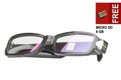 Spy Cam - Kacamata YB-SM11B + Bonus Memory 8 GB