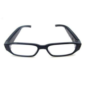 Spy Eyewear Glasses Camera Video Recorder HD 720P - Hitam