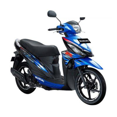 Suzuki Address Fi 110 NEC Medium Blue Titan Black Sepeda Motor [OTR Medan]