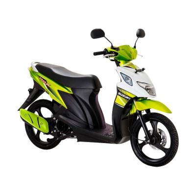 Suzuki Nex Super FI PRL Flash Green-Brilliant White Sepeda Motor [OTR Medan]