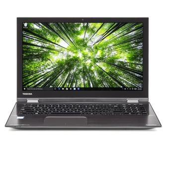 "TOSHIBA Satellite P55W-C5316-4K - RAM 12GB - Intel Core i7-6500U - 15.6"" Touch 4K Ultra HD - Win10 - Hitam"