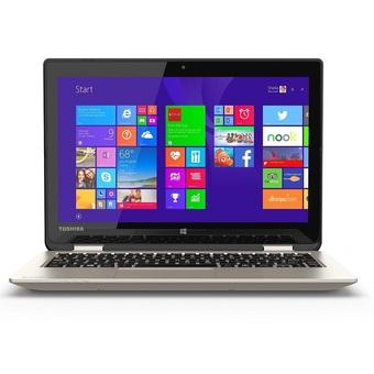 "Toshiba Satellite Radius L15W-B1302 - RAM 4GB - Intel Dual Core N2840 - 11.6"" Touch Hybrid 360 - Gold"