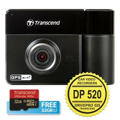 Transcend CVR DP 520 DrivePro 520 Car Video Recorders [Dual Camera]