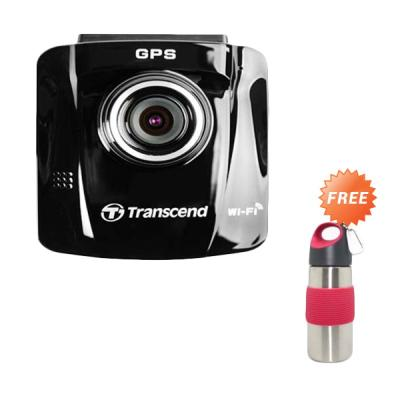 Transcend Car Video Recorder DrivePro 220 Included MLC Hitam Action Cam [16 GB] + Botol Minum
