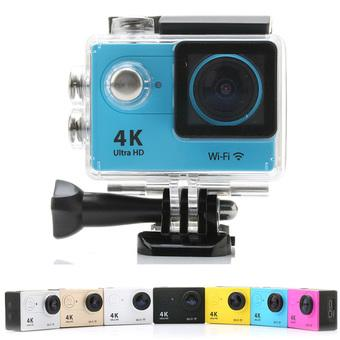 Universal H9 Action Sports Camera Video Camcorder For iPhone 6 6S Smartphone 12MP (Blue) (Intl)