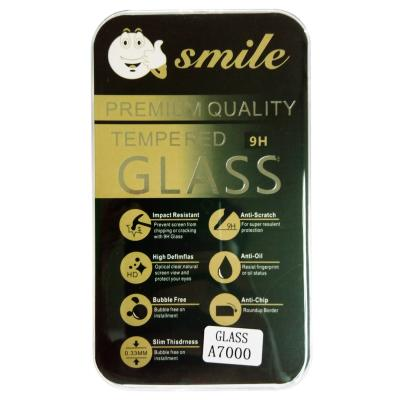 Universal Smile Tempered Glass Screen Protector for Lenovo A7000