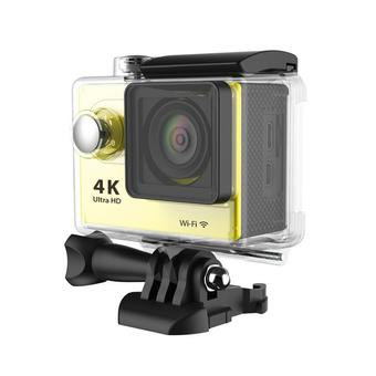 Universal Waterproof Ultra 4K WiFi SJ4000 1080P HD DV Action Sports Camera Video Camcorder for iPhone 6 6S Smartphone (Yellow) (Intl)