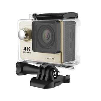 Universal Waterproof Ultra 4K WiFi SJ4000 1080P HD DV Action Sports Camera Video Camcorder for iPhone 6 6S Smartphone (Gold) (Intl)