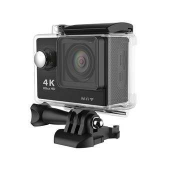 Universal Waterproof Ultra 4K WiFi SJ4000 1080P HD DV Action Sports Camera Video Camcorder for iPhone 6 6S Smartphone (Black) (Intl)