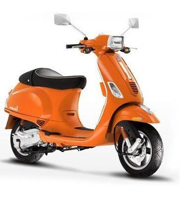 Vespa Sprint 150 cc ie 3V Orange OTR Bangka 2015