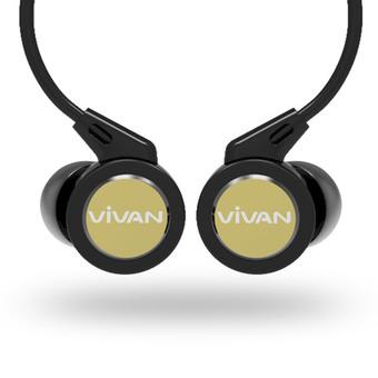 Vivan Handsfree VE01D Original - Hitam