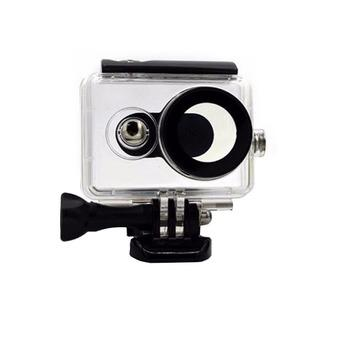 Waterproof Underwater Case IPX68 40m for Xiaomi Yi Sports Camera - Hitam