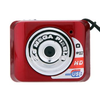 X3 Portable Mini High Quality Camcorder Digital Camera Video Action DV Recorder (Red) (Intl)