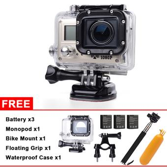 XCSource ActionCam WiFi Full HD Sports Camera 1080P Pocket Camcorder Diving SJ5000 LF606