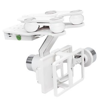 XCSource Brushless Gimbal For iLook GoPro (White)