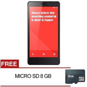 Xiaomi Redmi Note 3G - 8GB - Putih + Gratis MMC 8GB