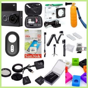 Xiaomi Yi Camera International Black Paket Super Lengkap
