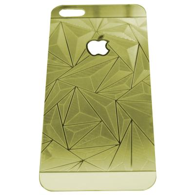 ZONA 3D Diamond Gold Tempered Glass for iPhone 4