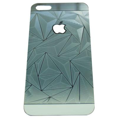ZONA 3D Diamond Silver Tempered Glass for iPhone 4