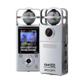 Zoom Q2HD Handy HD Video Recorder Silver