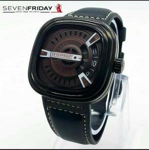 jam tangan Sevenfriday M2M leather black