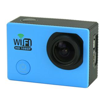"sport Kamera SJ6000 WiFi 30 M tahan air DV Kamera action sports 12MP Full HD 1080 P 30fps 2.0 ""LCD Diving (Blue) (Intl)"