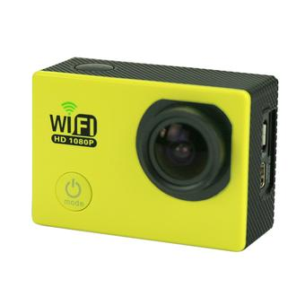 "sport Kamera SJ6000 WiFi 30 M tahan air DV Kamera action sports 12MP Full HD 1080 P 30fps 2.0 ""LCD Diving (Yellow) (Intl)"